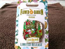 Disney * MICKEY & MINNIE * EPCOT Flower & Garden 2016 * New on Card Trading Pin