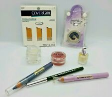 Variety 8 New Makeup Items for Light Skin Purples for Face Lips Eyes & Nails