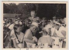 (F30721) Orig. Foto Kinder z. Schulfest in Hannover 1933