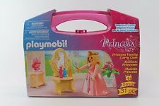 PLAYMOBIL 31 pc Prncess Vanity Set with Carry Case #5650 NEW & SEALED