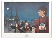 Affiche Tardi Avril et le Monde truqué 150ex signée 32x44 cm