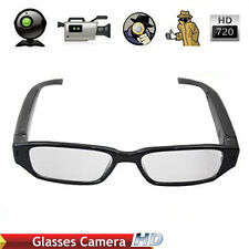 720P HD Spy Covert Portable Video Camera Glasses Spectacles Surveillance DVR