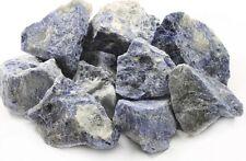Stone tumbling Rock - 1kg Sodalite Lapidary Rough Rock
