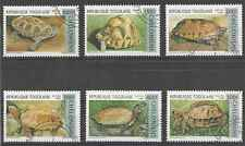 Timbres Reptiles Tortues Togo 1517/22 o lot 2911