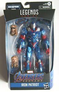 Marvel Legends IRON PATRIOT action figure (Endgame Thor BAF!)