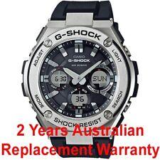 CASIO G-SHOCK G-STEEL SOLAR MEN WATCH GST-S110-1A BLACK x SILVER GST-S110-1ADR