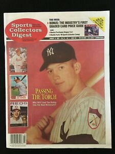 1999 Sports Collectors Digest magazine + Price Guide / Mickey Mantle / SCD