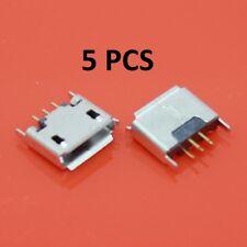 Jack port MICRO USB connector Vertical card MICRO-5P USB female 180 degree