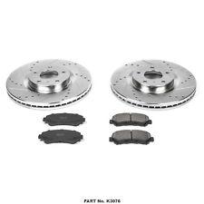 Disc Brake Pad and Rotor Kit-Z23 EvolutionSport Brake Upgrade Kit Front K3076