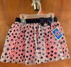4th of July Red White Blue Stars Ruffle Skirt Girls Toddler