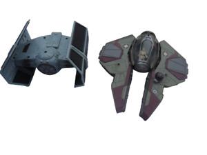 Star Wars Tie Fighter & Obi-Wan Kenobi Jedi Fighter craft