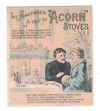 "Acorn Stove Metamorphic Trade Card ""Honeymoon Tale"""