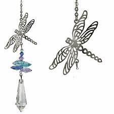 Crystal  Fantasy Dragonfly Suncatcher NEW