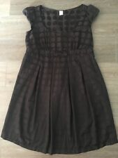 Ladies size 12 TARGET Black Spotty Baby Doll Decorative Dress - *Great Con