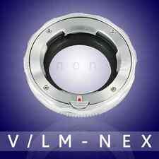 Yeenon LM-NEX Leica M VM-E Close Focus Adapter Sony A7 A7R A7RII(Silver Edition)