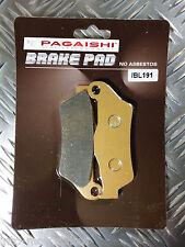 SEMI METAL FRONT BRAKE PADS FOR SHERCO SE 510 iR (Nissin rear caliper) 12 F