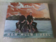 ALIBI - HOW MUCH I FEEL - 4 TRACK CD SINGLE