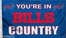 Buffalo Bills Huge 3'x5' Nfl Licensed Country Flag