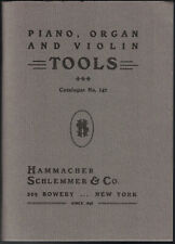 HAMMACHER SCHLEMMER / Tools for Piano Organ and Violin Makers Tuners 2000