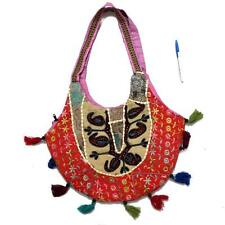 Vintage Tribal Banjara Indian Handmade Ethnic Multi Color Patchwork Bag