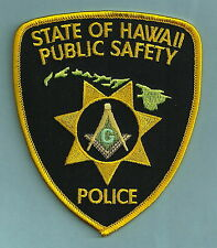IRON ON PATCH SHOULDER STATE OF HAWAII SHERIFF/'S DEPT