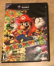 Mario Party 6 EMPTY REPLACEMENT CASE w/ Artwork - Gamecube NO game NO manual