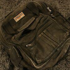 Vintage Denim Jean Back Pack Book Bag Sports Plus Olympia Retro