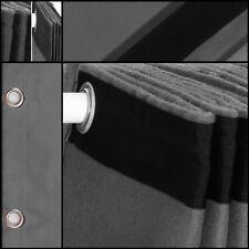 Bühnenvorhang-backdrop-geöst Molton-stoff dunkelgrau 3mx3m konfektioniert