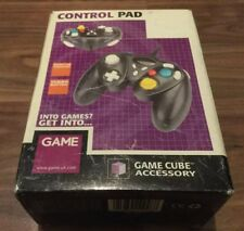 Black Nintendo Gamecube Controller Joypad Game Pad