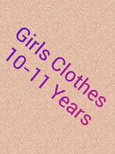 Girls Clothes Make Your Own Bundle Size 10-11 years Dress Jeans Leggings Blouses