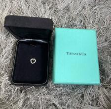 Tiffany & Co 18ct Diamond Heart Pendent With Box