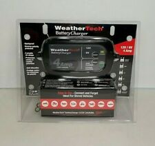 WeatherTech Battery Charger - Portable Intelligent 12V/6V RV/Auto/Marine Charger