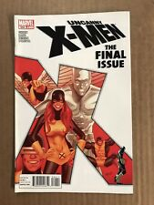UNCANNY X-MEN #544 MARVEL COMICS 1ST PRINT (2011) FINAL ISSUE CYCLOPS ICEMAN