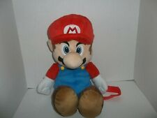 "2011 nintendo super mario bros backpack plush doll red hat 20"" tall"