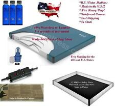 Queen Waterbed Mattress 95%  Waveless With 12 mil Liner, & Water bed Heater