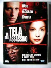 Dvd La Tela dell'assassino con Ashley Judd e Samuel L. Jackson 2004 Usato