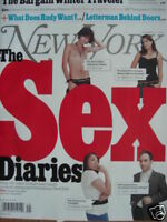 THE SEX DIARIES 11/09 New York EDWARD NORTON LETTERMAN