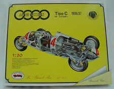 NUOVO revival 1:20 - AUTO UNION TIPO C ROSE Meyer F. Porsche-KIT KIT Diecast