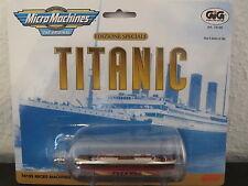 1998 Galoob Titanic in der Flasche Micro Machines Miniature 74195, OVP / NEU !!!