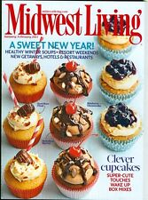 2013 Midwest Living: A Sweet New Year-Clever Cupcakes/Healthy Winter Soups