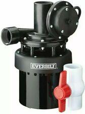 New ListingEverbilt 1/3 Hp Utility Sink Pump Effluent Basement Bar Laundry Sinks Plumbing