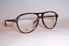 198d44a65f9 NEW CHRISTIAN DIOR EYEGLASSES CD MONTAIGNE 52 P65 BROWN HAVANA 54mm RX  AUTHENTIC