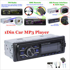 Bluetooth Car Stereo Audio In-Dash FM Aux Input SD/USB 1Din MP3 Radio Player