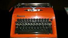 Vintage Adler Contessa De-Luxe portable typewriter in carry case