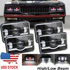 4pcs 4x6 LED Headlights Hi/Lo Sealed Beam For Chevrolet Monte Carlo 80-88 Camaro  for sale