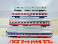 BZ179-1# 4x Märklin H0/AC Personenwagen etc (aus Demonstrations-Zug 2859) DB TOP