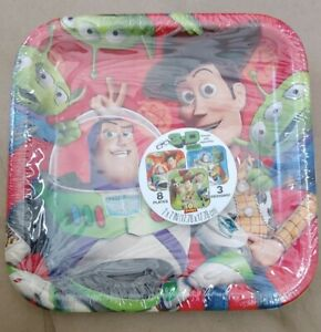 Toy Story Woody Buzz plate cake dessert New Free Shipping