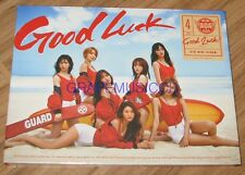 AOA Good Luck 4TH MINI ALBUM WEEK A.VER CD + PHOTOCARD + Yu Na POSTER IN TUBE