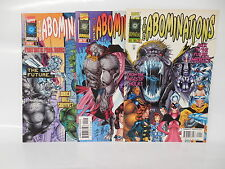 Abominations Marvel Comic Book 1-3 Complete Set Incredible Hulk Angel Medina Art