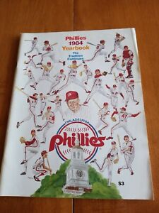 1984 PHILADELPHIA PHILLIES YEARBOOK THE TRADITION CONTINUES FREE SHIPPING!